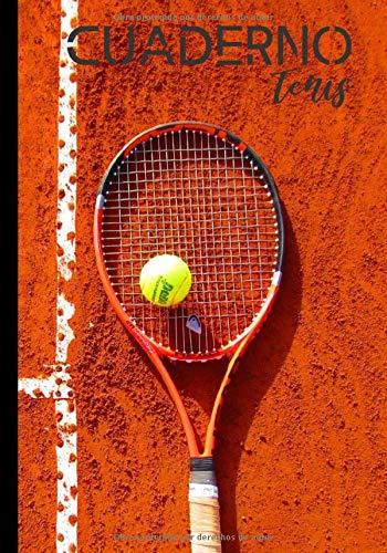 Cuardeno tenis Cuaderno para los amantes del tenis amateur profesional