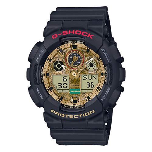Casio G-Shock x Maneki Neko GA100TMN-1A Japanese Lucky Charm Watch Black