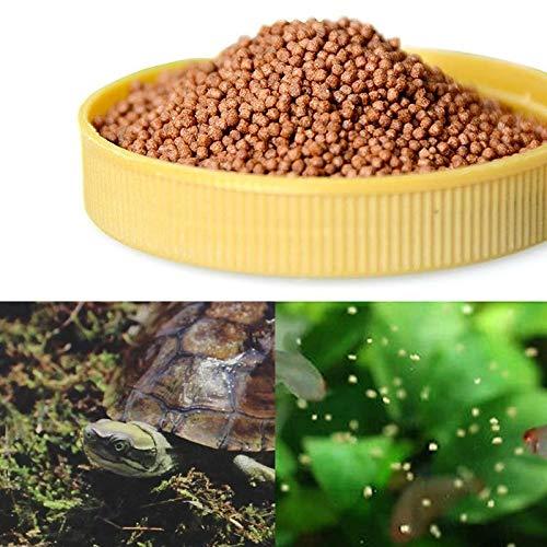20g High Protein Spirulina Wheat Soybean Aquarium Tortoise Turtle Food Improve Immunity Healthy Delicious Feed Home Fish
