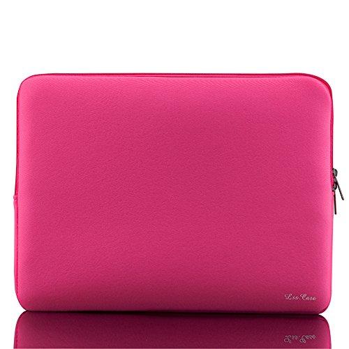 KKmoon Bolsa para laptop 14 pulgadas 14 'Ultrabook Notebook Tablet Funda para computadora Funda suave con cremallera Bolsa Funda Bolsillo