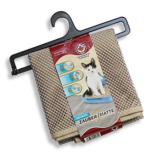CanadianCat Company Zaubermatte Select grau - die Streumatte für die Katzentoilette