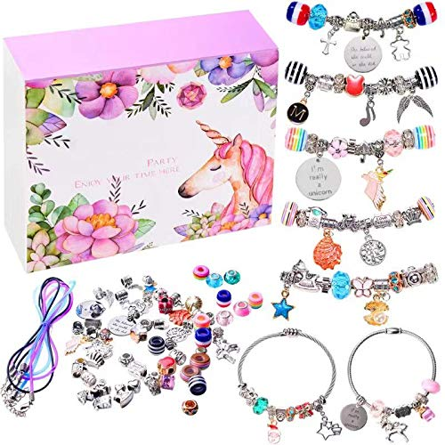 Product Image of the monochef DIY Charm Bracelet Making Kit, Jewelry Making Supplies Bead Snake Chain...