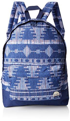 Roxy Damen Backpack Sugar J, blau, 14 x 33 x 46 cm, 16 Liter, ERJBP03264-BSQ7-1SZ