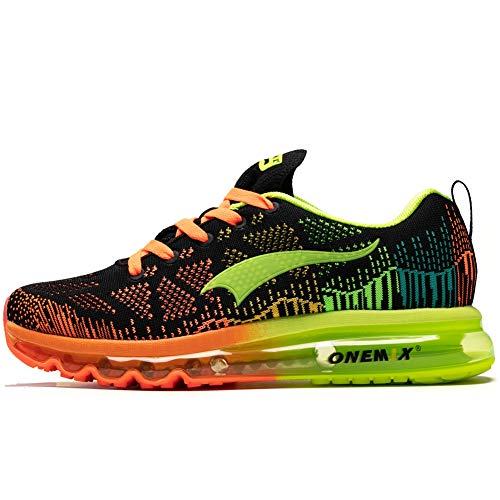 ONEMIX Air Women's Running Shoes - Zapatillas de Running Ligeras para Mujer, Color Naranja, Talla 39 EU