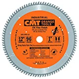 CMT 255.096.12 ITK Industrial Fine Finish Saw Blade, 12-Inch x 96 Teeth 40° ATB Grind with 1-Inch Bore