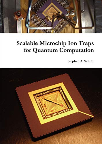 Scalable Microchip Ion Traps for Quantum Computation