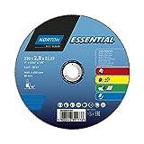 Norton 66252839387 Disque à tronçonner 230 x 2.0 x 22.23mm multi-matériaux