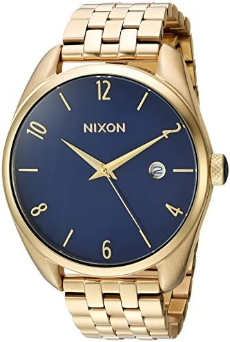 Nixon Women s Bullet Japanese Quartz Watch with Stainless Steel Strap Gold 18 Model A4182625 product image