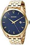Nixon Women's Bullet Japanese-Quartz Watch with Stainless-Steel Strap, Gold, 18 (Model: A4182625-00)