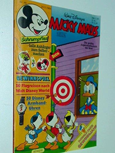 Micky Maus Heft 1984 Nr. 48 , mit Schrumpf-Folie, 24.11.1984 , Ehapa Comic-Heft
