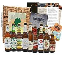 💥 9 MEILLEURES BIÈRES D'ALLEMAGNE: Les bières d'Allemagne testent des sélections de bières allemandes soigneusement sélectionnées dans une boîte cadeau dans une boîte d'essai 🎁 EMBALLAGE ANTI-RUPTURE: L'idée cadeau bière est livrée dans une boîte inc...