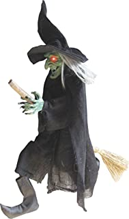 green faced witch