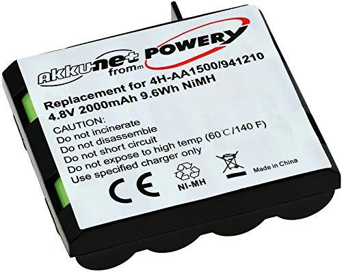 Batería no original, compatible con modelo Compex 941210 4.8V