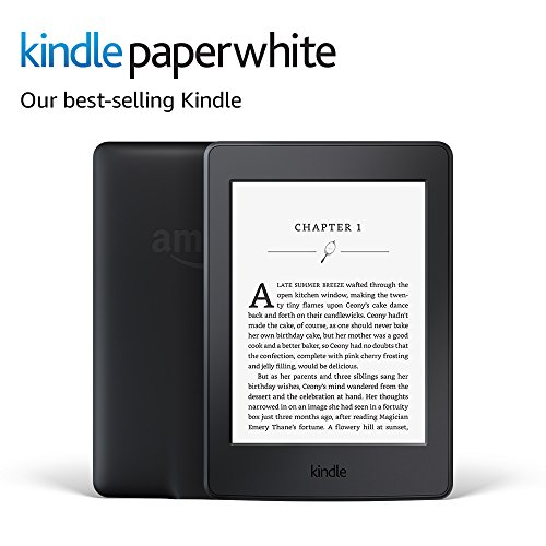 Kindle Paperwhite E-reader (Previous Generation - 7th) - Black, 6' High-Resolution Display (300 ppi) with Built-in Light, Wi-Fi - Includes Special Offers