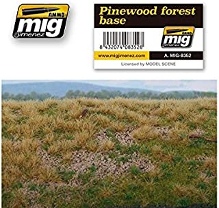 AMMO MIG-8352 Pinewood Forest Base Grass Mats, Multicolour