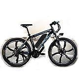 PHASFBJ Eléctrico Bicicleta, Mountain Ebike 26 Pulgadas on Freno de Disco Hidráulico Shimano 21 Velocidades Bicis Electrica Batería de 48V 15Ah 350W,48v10ah