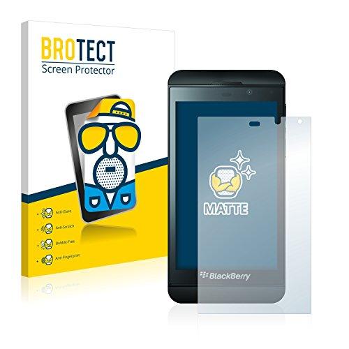 brotect Pellicola Protettiva Opaca Compatibile con Blackberry Z10 Pellicola Protettiva Anti-Riflesso (2 Pezzi)