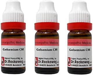 Dr. Reckeweg Germany Gelsemium Sempervirens cm CH, 11ml Each (Pack of 3)
