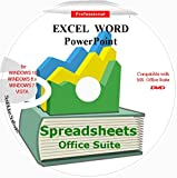 Spreadsheet Word Excel PowerPoint Office Suite 2021 Word PowerPoint Home Student and Business for Windows 10 8 7 Vista XP 32 64bit| Alternative to MicrosoftTM Office 2016 2013 2010 365