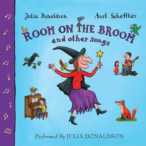 Room on The Broom and Other Songs audiobook cover art