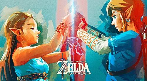 Lcyab Rompecabezas La Leyenda De Zelda Link Zelda 1000 Piezas Niños Y Adultos Juego De Juguetes De Madera Educativo