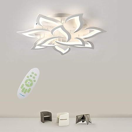 JDMYL Moderna LED A Dimmerabile Plafoniera, 60W Pannello Acrilico A Petalo Creativo personalità Lampada da Soffitto, Utilizzata for Soggiorno, Sala da Pranzo, Plafoniera for della Camera dei Bambini