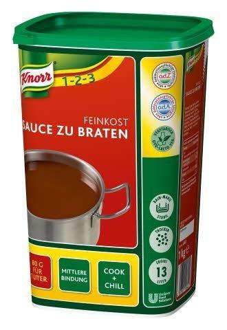 Knorr Feinkost Sauce zu Braten 1 kg, 1er Pack (1 x 1 kg)