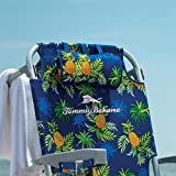 T B Tommy Bahama mochila plegable silla de playa en impresión de...
