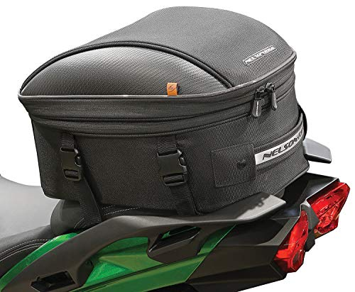Read About Nelson Rigg CL-1060-ST2 Black Commuter Tour Motorcycle Tail/Seat Bag