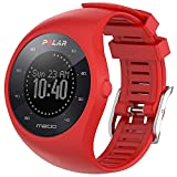 Braleto Correa para Polar M200, Correa de Reloj de Silicona de Repuesto Deportivo para Polar M200 (Rojo)