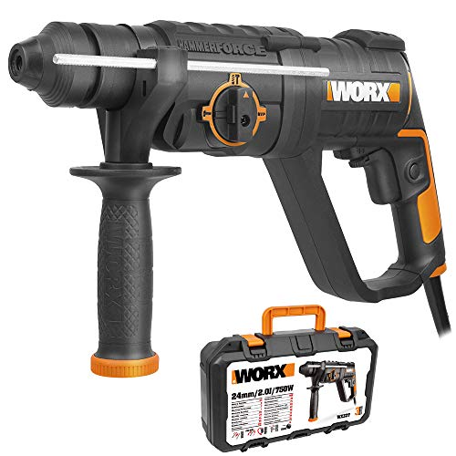 Worx WX337 - Martillo horizontal 3F 750W 2,0J