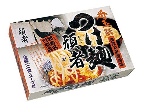 埼玉ラーメン 頑者 つけ麺 12食セット (2食X6箱) [超人気 ご当地ラーメン]