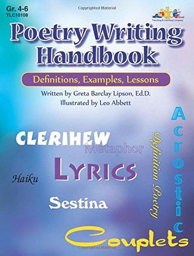 Manual de escrita de poesia: Definições, Exemplos, Lições (Gr. 38-40)