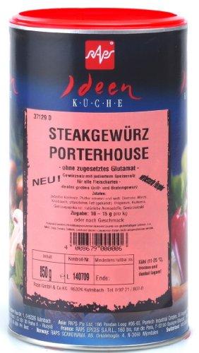 1a Raps Gewürze 1037129-001 Steakgewürz PORTERHOUSE --- Dose 850g