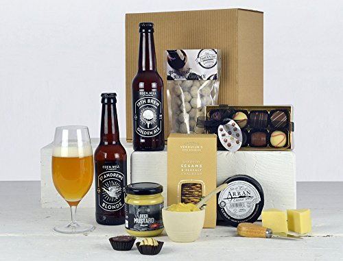 Beer Gift Box - Beer, Cheese & Chocolates Hamper