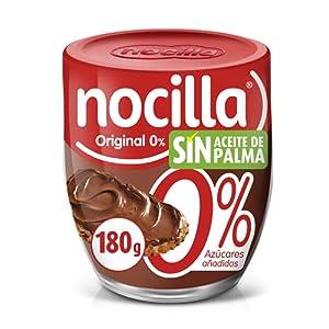 Nocilla Original 0% Azúcares Añadidos, sin Aceite de Palma, 180g