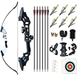 Monleap Archery 51' Takedown Recurve Bow and Arrows Set for...