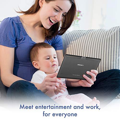 Tablet 10 pulgadas 4G LTE WIFI BEISTA,Android 9.0,4GB RAM 32GB ROM+32GB Tarjeta SD,Quad-core,GPS,Bluetooth,OTG,Oro(Configuración de parámetros actualizada)