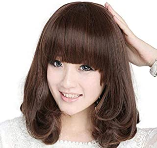 شعر مستعار قصير كمثري الشكل للنساء