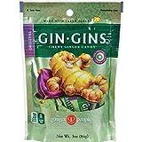 Ginger People - La ginebra atrapa original cauchutosa del caramelo del jengibre - 3 oz.