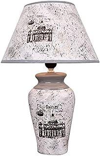 WYBFZTT-188 Créativité Minimaliste Céramique Accueil Tissu Abat Salon Chambre Étude Table de Chevet Lampe