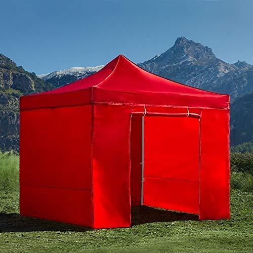 Regalos Miguel - Carpas Plegables 3x3 - Carpa 3x3 Eco (Kit Completo) - Rojo - Envío Desde España