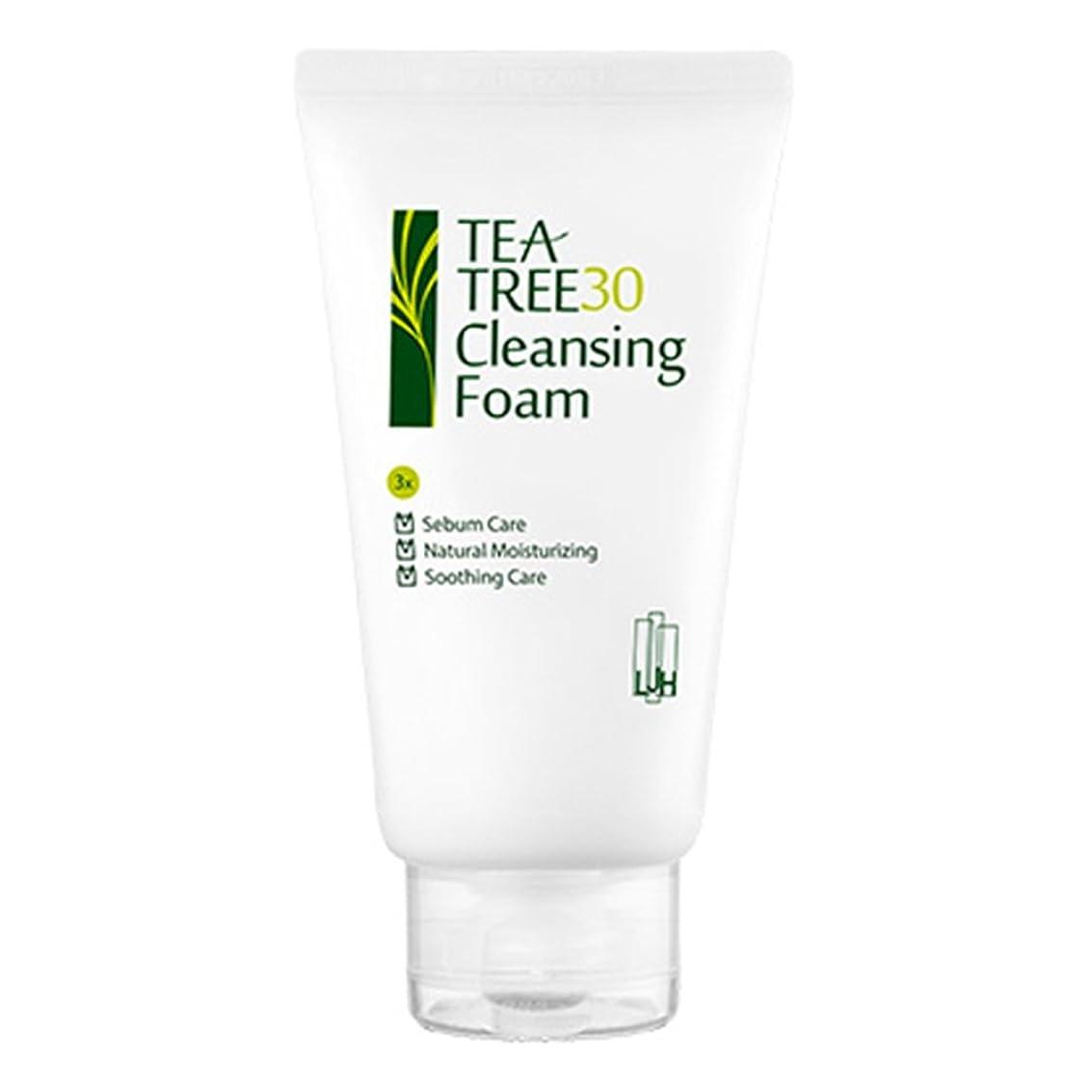 ブリークハブ中で(イジハム) LeeGeeHaam Tea tree 30 Cleansing Foam 150ml (海外直送品)