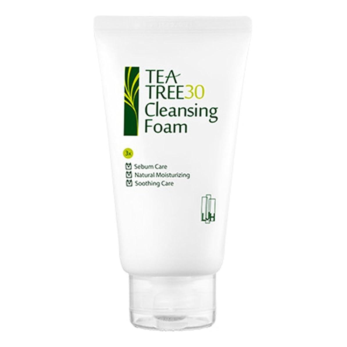ブラウン通知しかしながら(イジハム) LeeGeeHaam Tea tree 30 Cleansing Foam 150ml (海外直送品)