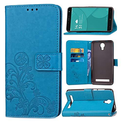 JEEXIA Funda para DOOGEE X7 / X7 Pro, Moda Flip Wallet Case Cover PU Cuero con...