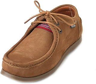 52828687 Snipe - Zapatos de Cordones de Cuero para Mujer Marrón Braun (Roccia/Nobuck  Lavable
