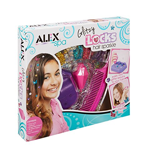 Alex Spa Glitzy Locks Hair Sparkle Girls Fashion Activity