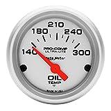 Auto Meter 4348 Ultra-Lite Electric Oil Temperature Gauge, 2 1/16'