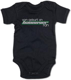 G-graphics Baby Body Von Geburt an Hannover Fan 250.0510