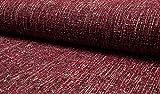 Minerva Crafts Tweed-Beschichtung, Rot, Meterware